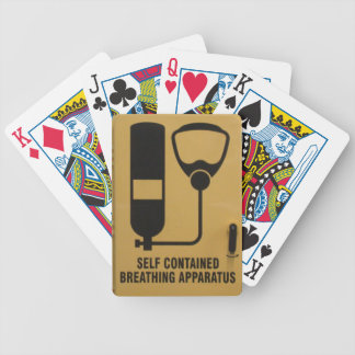 Self-Contained Breathing Apparatus Playing Cards