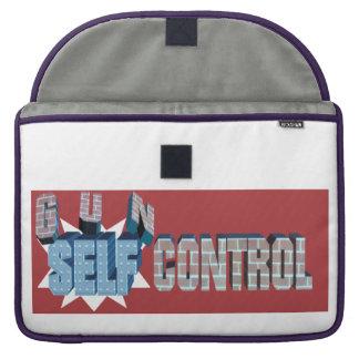 Self-Control Over Gun Control Macbook Sleeve MacBook Pro Sleeve