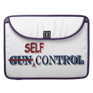 Self-Control Over Gun Control Macbook Sleeve Sleeves For MacBook Pro