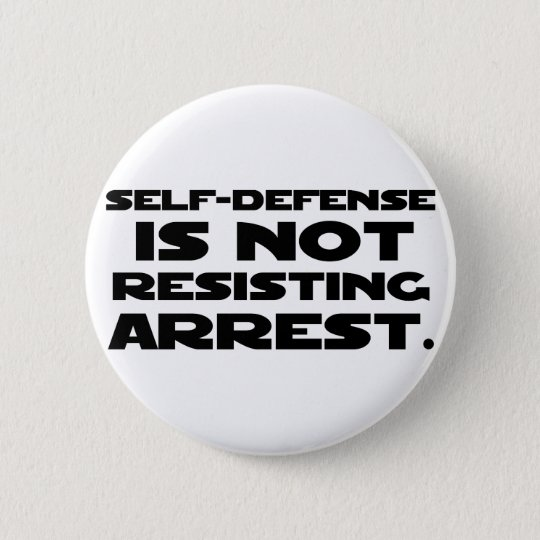 Self-Defense3 6 Cm Round Badge