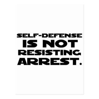 Self-Defense3 Postcard