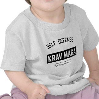 Self Defense Krav Maga Tee Shirts