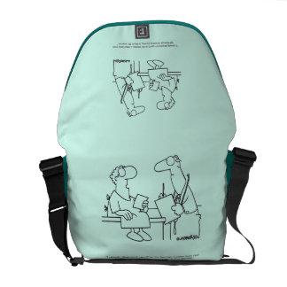 Self-Diagnosis Messenger Bag