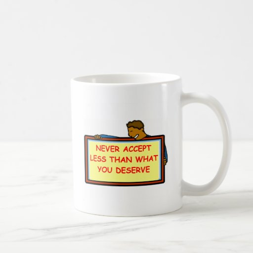self esteem coffee mug