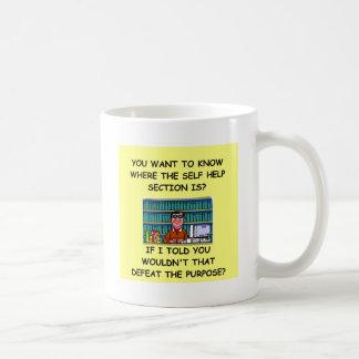 self help joke coffee mug