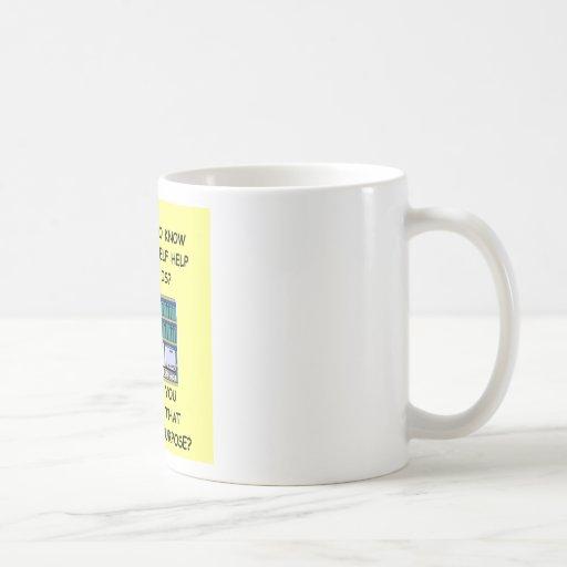self help joke mug