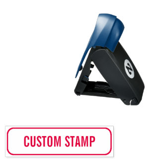 Self-Inking Pocket Rubber Stamp with Custom Text