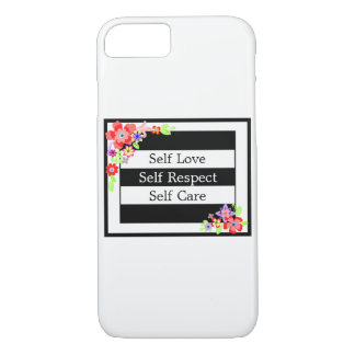 """""""Self Love"""" Gorgeous Floral iPhone Case. iPhone 7 Case"""