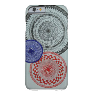 Self-made mandala barely there iPhone 6 case