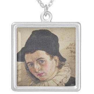 Self Portrait, 1591 Silver Plated Necklace