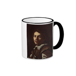 Self Portrait, 1620 (oil on canvas) Ringer Mug