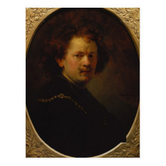 Self Portrait, 1633 Postcard