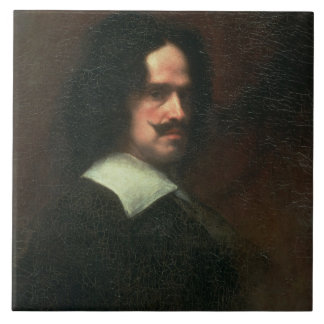 Self Portrait, 1640 (oil on canvas) Tile