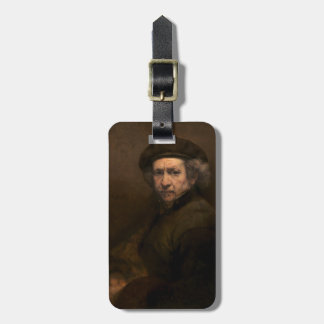 Self-Portrait, 1659 (oil on canvas) Luggage Tag