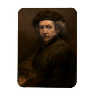 Self-Portrait, 1659 (oil on canvas) Rectangular Photo Magnet