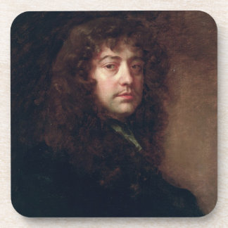 Self Portrait, 1665-70 (oil on canvas) Beverage Coasters