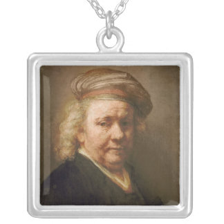 Self Portrait, 1669 Silver Plated Necklace