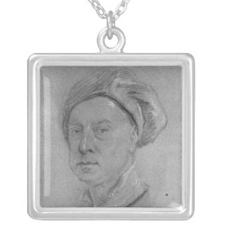 Self Portrait, 1734-35 Silver Plated Necklace