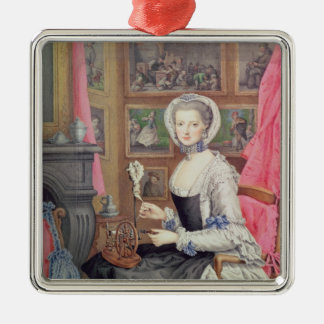 Self Portrait, 1776 Christmas Ornament