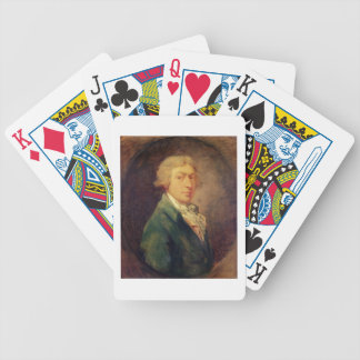 Self Portrait, 1787 (oil on canvas) 2 Bicycle Playing Cards