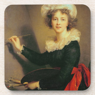 Self Portrait, 1790 (oil on canvas) Coasters