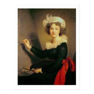Self Portrait, 1790 (oil on canvas) Postcard