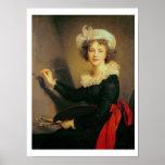 Self Portrait, 1790 (oil on canvas) Poster
