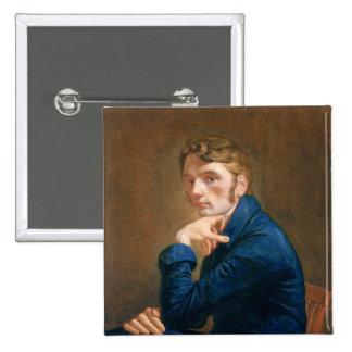 Self Portrait, 1805 15 Cm Square Badge