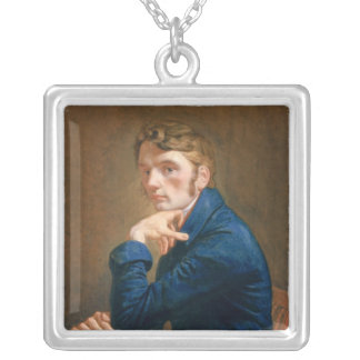 Self Portrait, 1805 Silver Plated Necklace