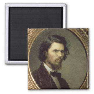 Self Portrait, 1867 Magnet