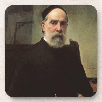 Self Portrait, 1878 (oil on canvas) Coasters