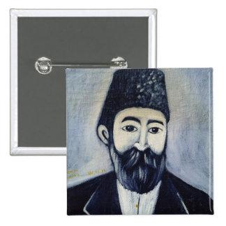 Self Portrait, 1900 15 Cm Square Badge