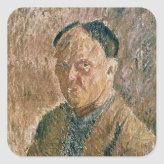 Self Portrait, 1923 Square Sticker