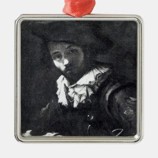 Self-portrait 2 christmas ornament