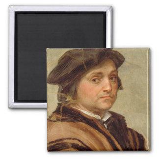 Self Portrait 2 Square Magnet