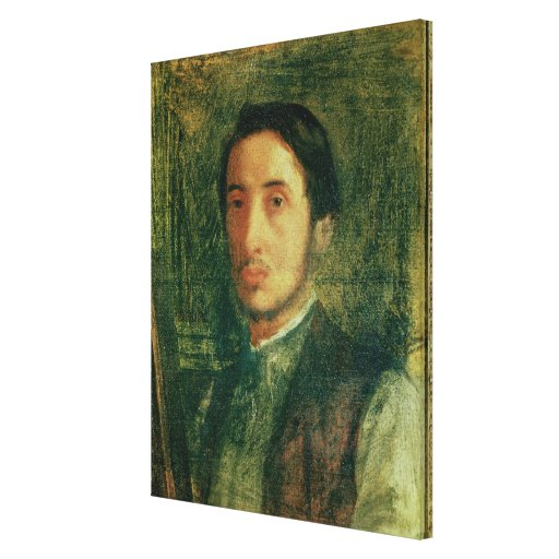 Self Portrait as a Young Man Stretched Canvas Prints