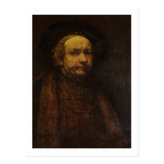 Self Portrait as an Old Man, c.1664 (oil on canvas Postcard
