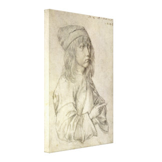 Self Portrait at Age 13 by Albrecht Durer Stretched Canvas Print