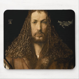 Self Portrait at the Age of Twenty-Eight, 1500 Mouse Mat