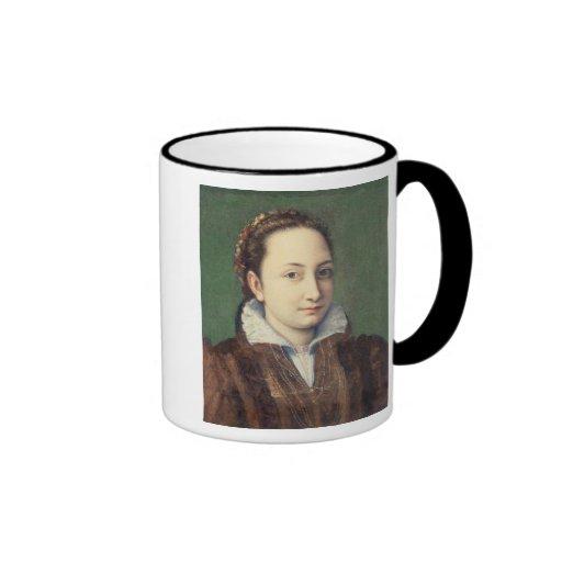 Self portrait, attired as maid-of-honour coffee mug