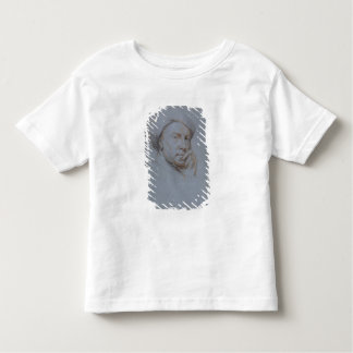 Self Portrait (black, red and white chalk on blue Toddler T-Shirt