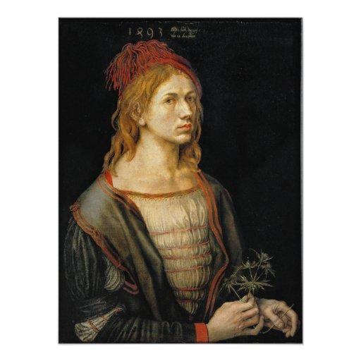 Self Portrait by Albrecht Durer 1493 Photograph