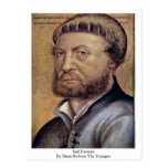 Self-Portrait By Hans Holbein The Younger Postcards
