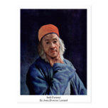 Self-Portrait By Jean-Etienne Liotard Postcard