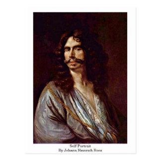 Self-Portrait By Johann Heinrich Roos Postcard