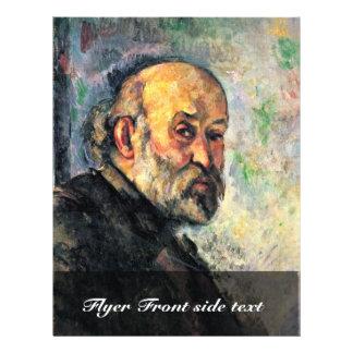 Self-Portrait By Paul Cézanne (Best Quality) 21.5 Cm X 28 Cm Flyer