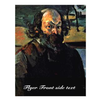 Self-Portrait. By Paul Cézanne (Best Quality) 21.5 Cm X 28 Cm Flyer