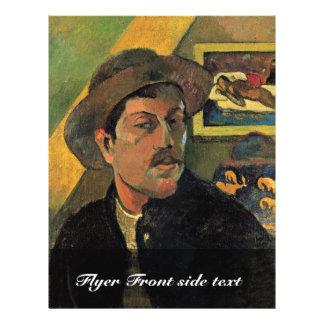 Self-Portrait By Paul Gauguin (Best Quality) 21.5 Cm X 28 Cm Flyer
