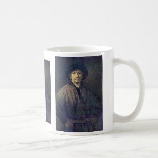 Self-Portrait By Rembrandt Harmensz. Van Rijn Coffee Mug