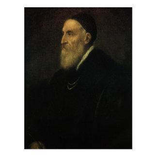 Self Portrait by Titian, Renaissance Art Postcard